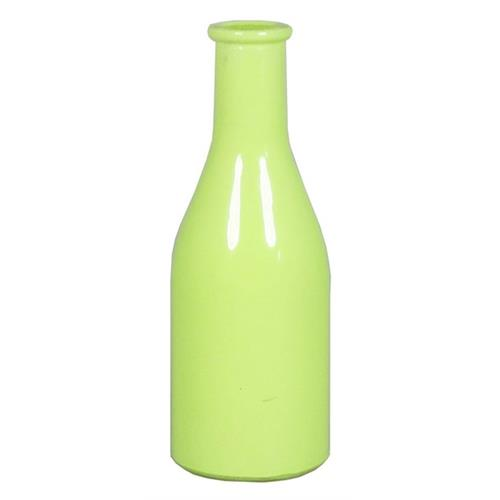 BOTTLE SEINE D6.5 H18CM GREEN
