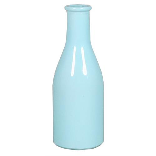 BOTTLE SEINE D6.5 H18CM BLUE