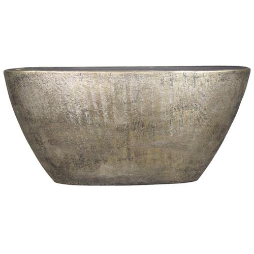 <b><span style=color:#FF0000>*New*</span></b> BOAT MIRA 73X17X36CM INDUSTRIAL GOLD